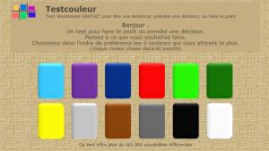 test couleurs